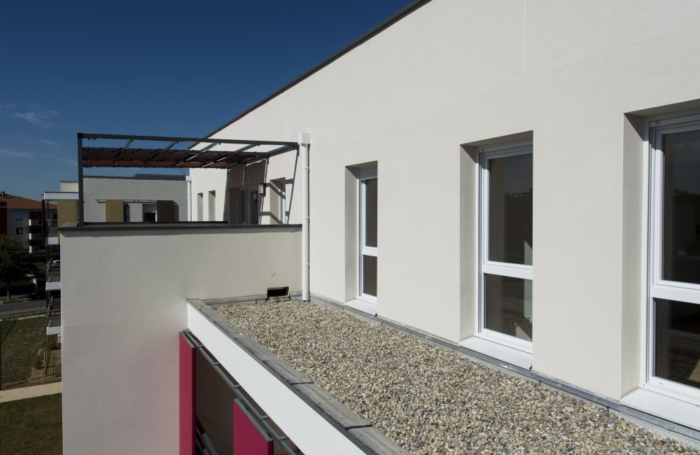 Projet immobilier neuf Grand'R vue terrasse