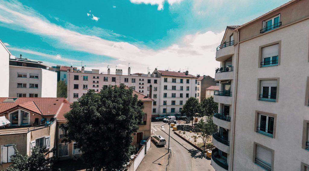 Programme neuf Villeurbanne Aéro : vue réelle 4 d'un appartement