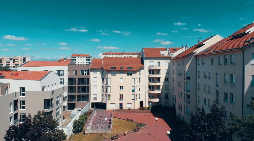 Programme neuf Villeurbanne Aéro : vue réelle 2 d'un appartement