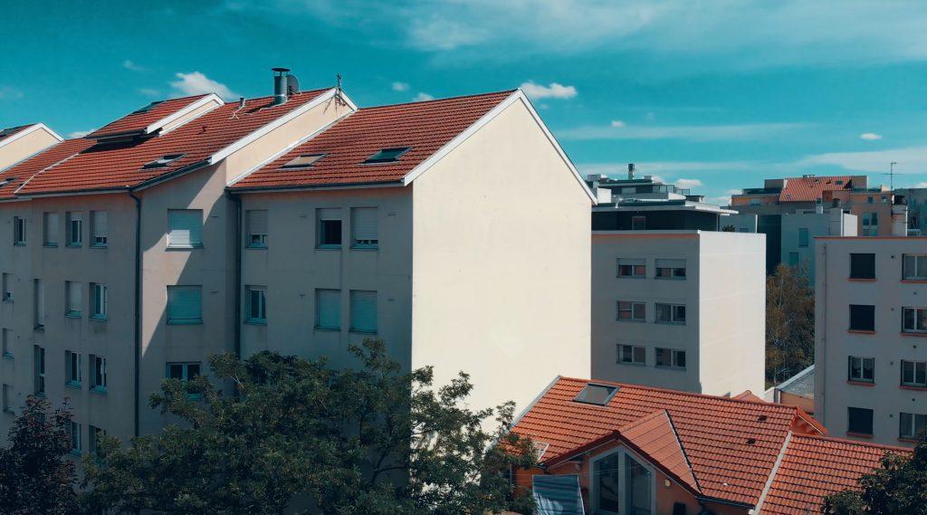 Programme neuf Villeurbanne Aéro : vue réelle 3 d'un appartement