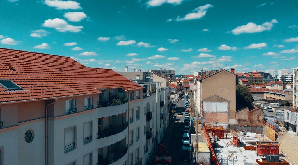 Programme neuf Villeurbanne Aéro : vue réelle 1 d'un appartement