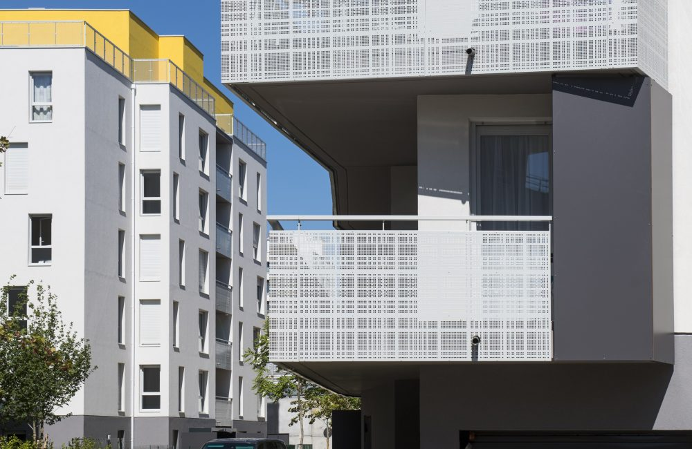 Projet immobilier neuf Aire 8.2 zoom balcon