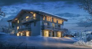 programme immobilier PRIVILODGE, Megève Demi-quartier - Exterieur 3