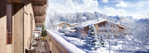 programme immobilier PRIVILODGE, Megève Demi-quartier - Exterieur 1