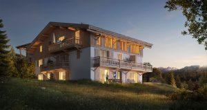 programme immobilier PRIVILODGE, Megève Demi-quartier - Exterieur 4